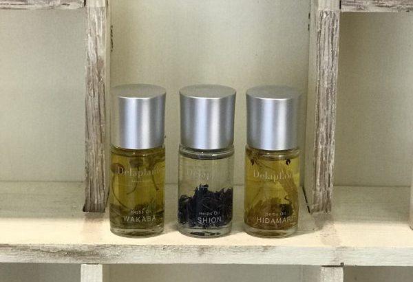 化粧水とオイルを混ぜてみて。